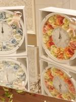 アーティフィシャルフラワーの贈呈用ギフト 花時計